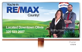 Olivia Remax billboard